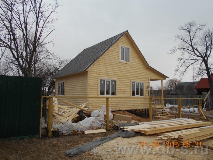 Строительство каркасного дома с мансардой 8 на 6 Шуя, Ивановская область фото 2