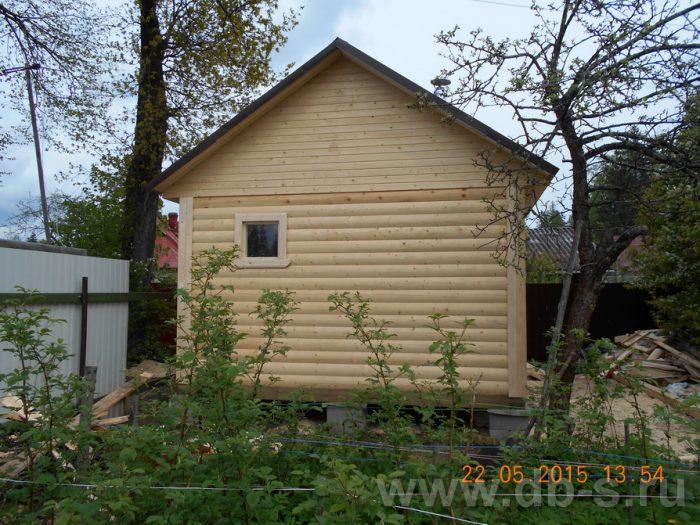 Строительство одноэтажной бани из бруса 6 на 4 Сертолово, Ленинградская область фото 2
