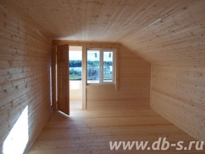 Строительство двухэтажного каркасного дома 8 на 8 Лодейное Поле, Ленинградская область фото 9