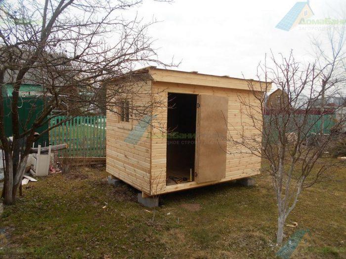 Строительство дома из бруса с мансардой 8 на 6 Боровск, Калужская область фото 3