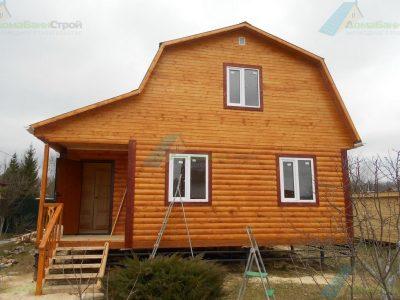 Строительство дома 6х8 г. Боровск