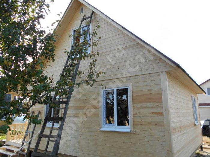 Строительство каркасного дома с мансардой 8 на 6 Рыбинск, Ярославская область фото 2