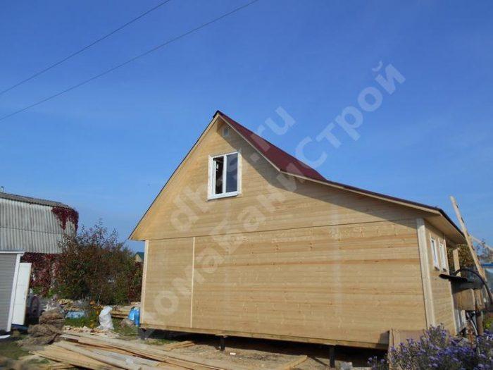 Строительство каркасного дома с мансардой 8 на 6 Рыбинск, Ярославская область фото 3