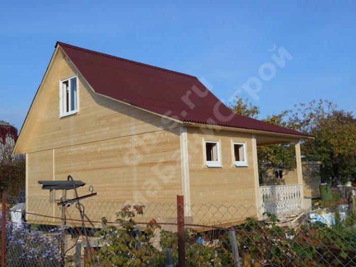 Строительство каркасного дома с мансардой 8 на 6 Рыбинск, Ярославская область фото 1