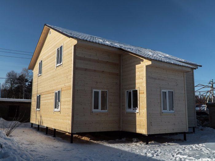 Строительство двухэтажного каркасного дома 8 на 10 Ногинск, Московская область фото 1