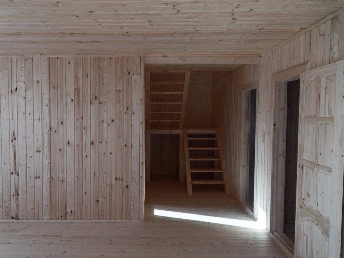 Строительство двухэтажного каркасного дома 8 на 10 Ногинск, Московская область фото 2