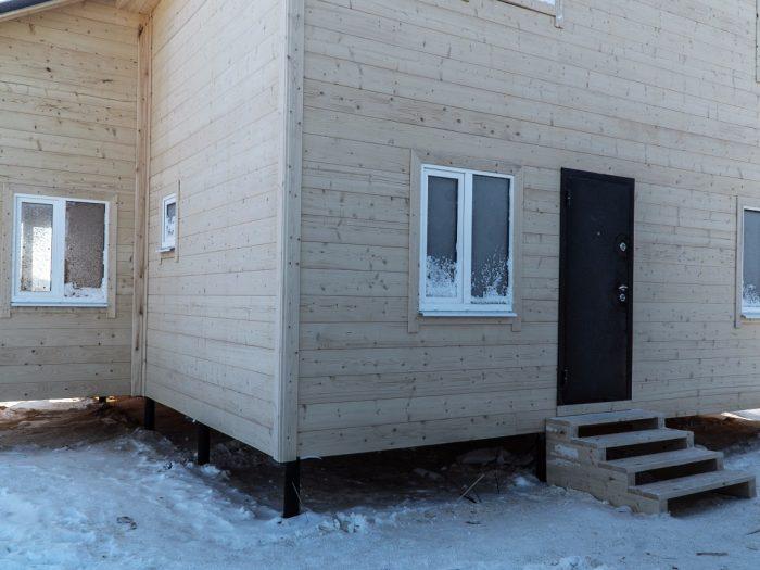 Строительство двухэтажного каркасного дома 8 на 10 Ногинск, Московская область фото 6