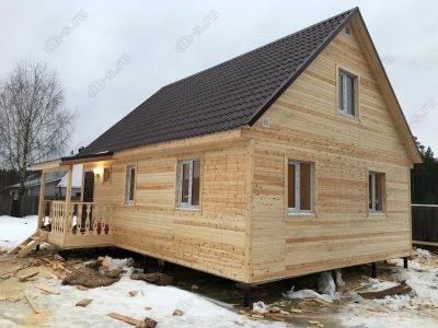 Строительство дома 6х9 п. Кадуй