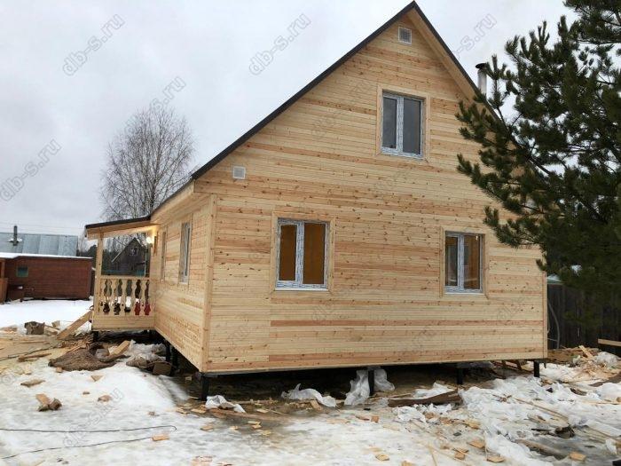 Строительство каркасного дома с мансардой 6 на 9 Кадуй, Вологодская область фото 17