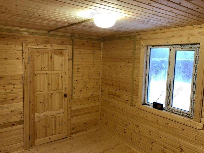 Строительство каркасного дома с мансардой 6 на 9 Кадуй, Вологодская область фото 10