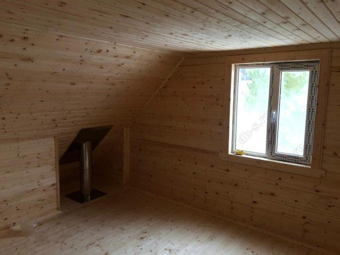 Строительство каркасного дома с мансардой 6 на 9 Кадуй, Вологодская область фото 12