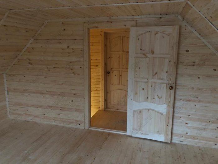 Строительство каркасного дома с мансардой 6 на 9 Кадуй, Вологодская область фото 13