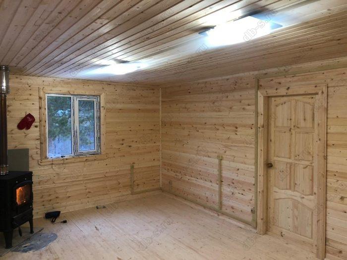 Строительство каркасного дома с мансардой 6 на 9 Кадуй, Вологодская область фото 14