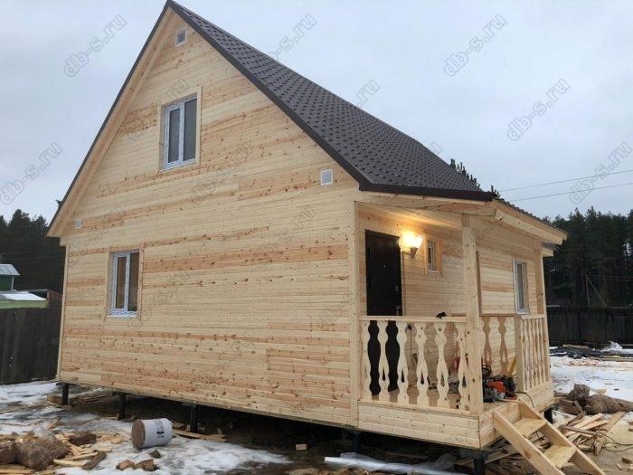 Строительство каркасного дома с мансардой 6 на 9 Кадуй, Вологодская область фото 15