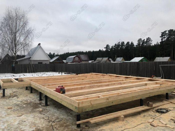 Строительство каркасного дома с мансардой 6 на 9 Кадуй, Вологодская область фото 3