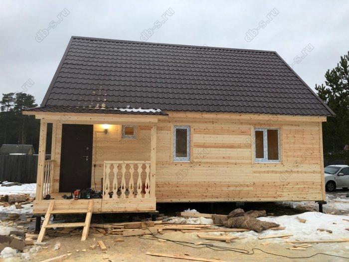 Строительство каркасного дома с мансардой 6 на 9 Кадуй, Вологодская область фото 16
