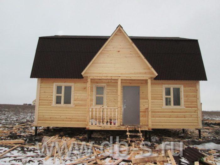 Строительство дома из бруса с мансардой 9 на 7 Новомосковск, Тульская область фото 3