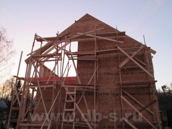 Строительство двухэтажного каркасного дома 8 на 8 Петергоф, Санкт-Петербург фото 2