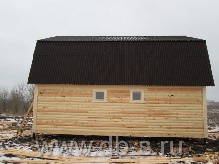 Строительство дома из бруса с мансардой 9 на 7 Новомосковск, Тульская область фото 4