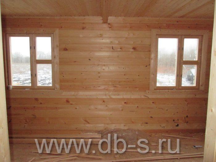 Строительство дома из бруса с мансардой 9 на 7 Новомосковск, Тульская область фото 7