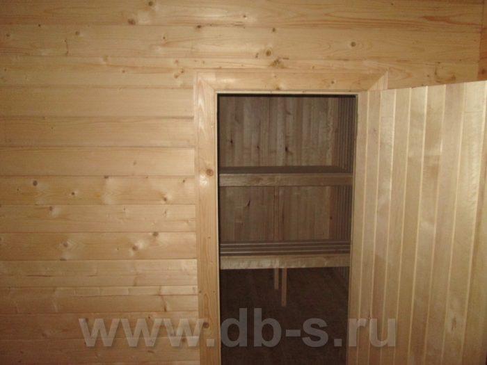 Строительство бани из бруса с мансардой 6 на 6 Гатчина, Ленинградская область фото 5