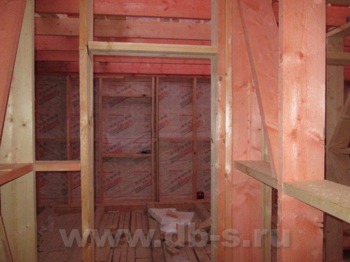 Строительство двухэтажного каркасного дома 8 на 8 Петергоф, Санкт-Петербург фото 3