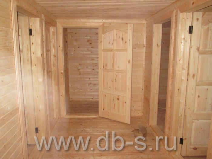 Строительство дома из бруса с мансардой 9 на 7 Новомосковск, Тульская область фото 9