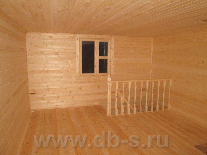 Строительство бани из бруса с мансардой 6 на 6 Гатчина, Ленинградская область фото 7