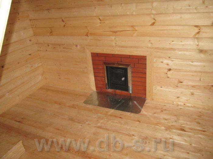 Строительство бани из бруса с мансардой 6 на 6 Гатчина, Ленинградская область фото 10
