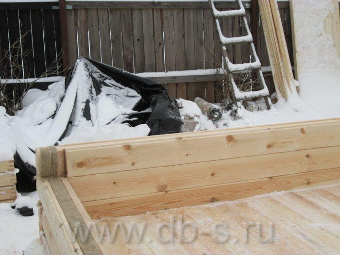 Строительство дома из бруса с мансардой 6 на 6 Кимры, Тверская область фото 4