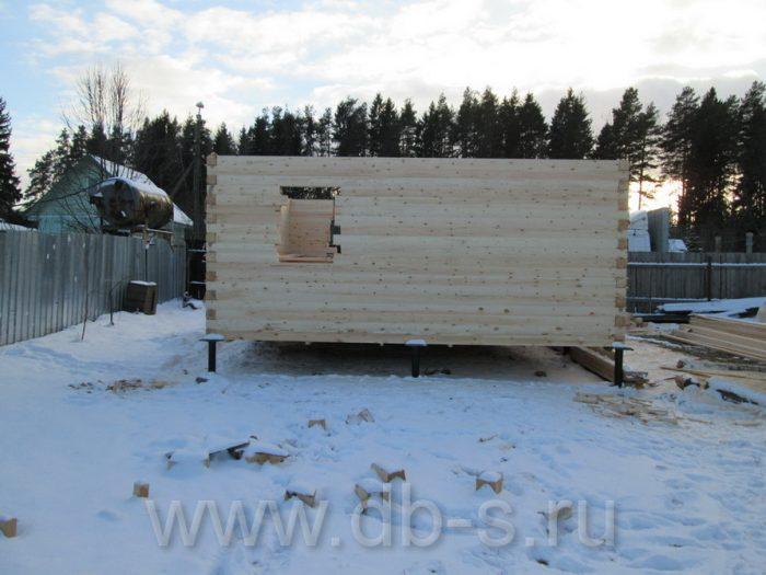Строительство дома из бруса с мансардой 6 на 6 Кимры, Тверская область фото 5