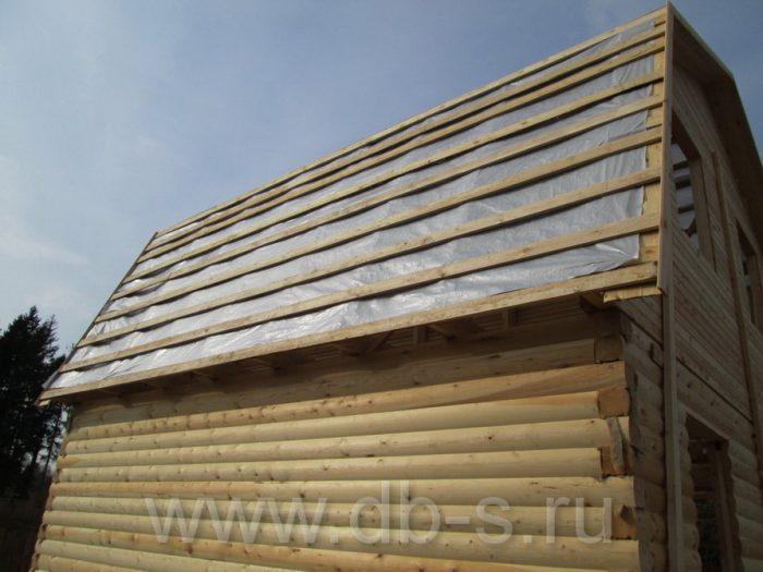 Строительство дома из бруса с мансардой 6 на 6 Кимры, Тверская область фото 15
