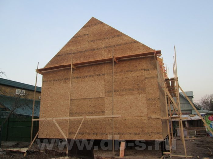 Строительство двухэтажного каркасного дома 8 на 8 Петергоф, Санкт-Петербург фото 14