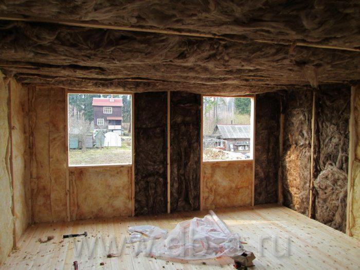 Строительство дома из бруса с мансардой 6 на 6 Кимры, Тверская область фото 16