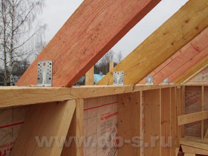 Строительство двухэтажного каркасного дома 8 на 8 Петергоф, Санкт-Петербург фото 16