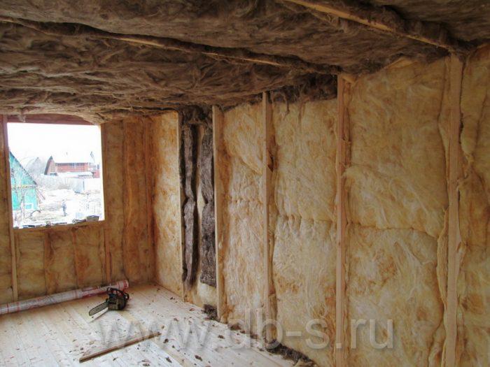 Строительство дома из бруса с мансардой 6 на 6 Кимры, Тверская область фото 19