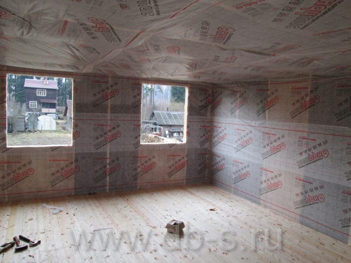 Строительство дома из бруса с мансардой 6 на 6 Кимры, Тверская область фото 20