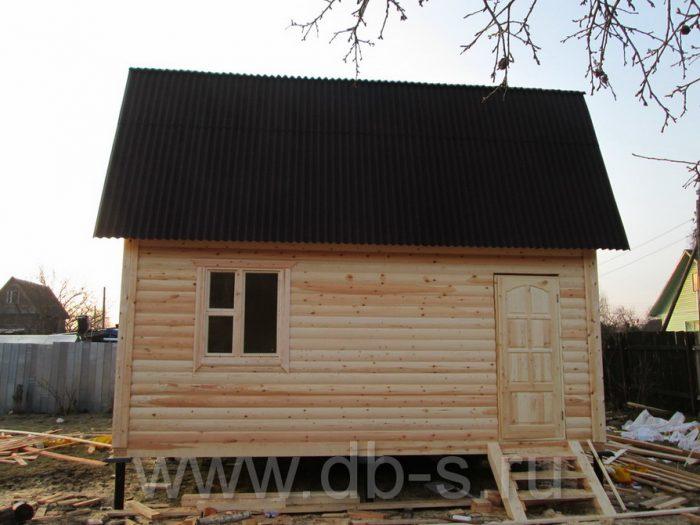 Строительство дома из бруса с мансардой 6 на 6 Кимры, Тверская область фото 22