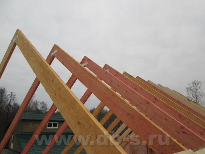 Строительство двухэтажного каркасного дома 8 на 8 Петергоф, Санкт-Петербург фото 20