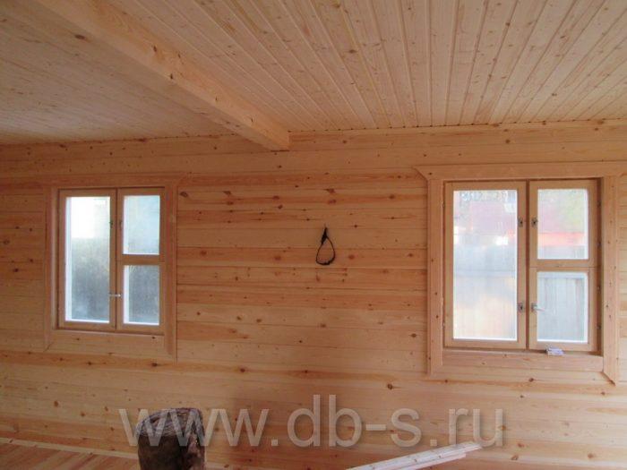 Строительство дома из бруса с мансардой 6 на 6 Кимры, Тверская область фото 29
