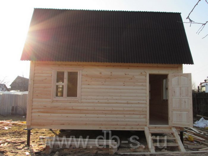 Строительство дома из бруса с мансардой 6 на 6 Кимры, Тверская область фото 30