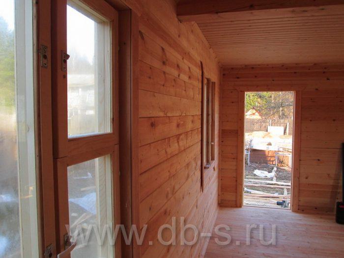 Строительство дома из бруса с мансардой 6 на 6 Кимры, Тверская область фото 32