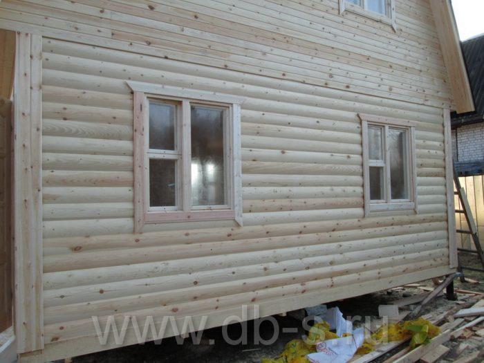 Строительство дома из бруса с мансардой 6 на 6 Кимры, Тверская область фото 33