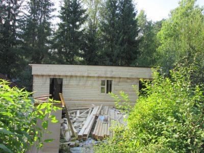 Строительство бани 4х10 г. Выборг