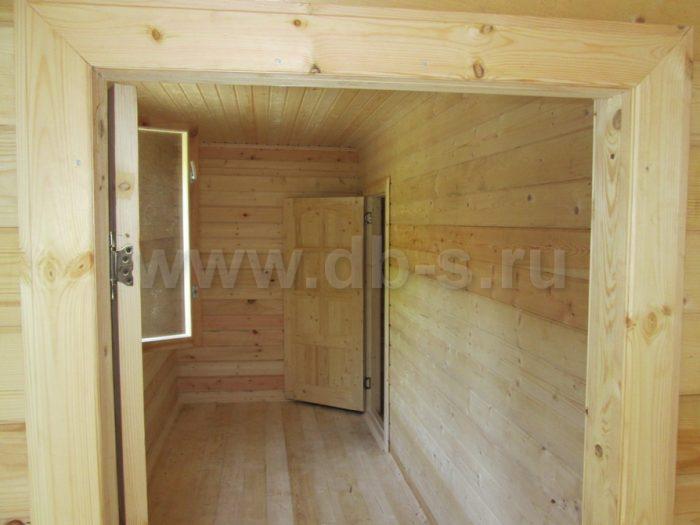 Строительство одноэтажной бани из бруса 4 на 10 Выборг, Ленинградская область, фото 4