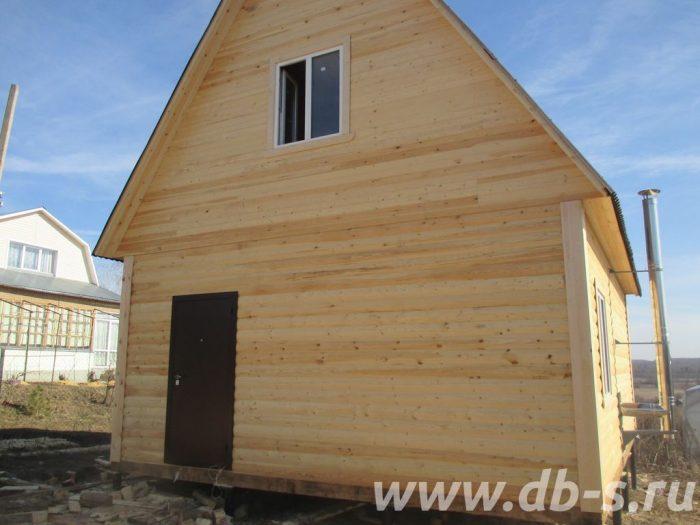 Строительство дома из бруса с мансардой 6 на 8 Щёлково, Московская область фото 2