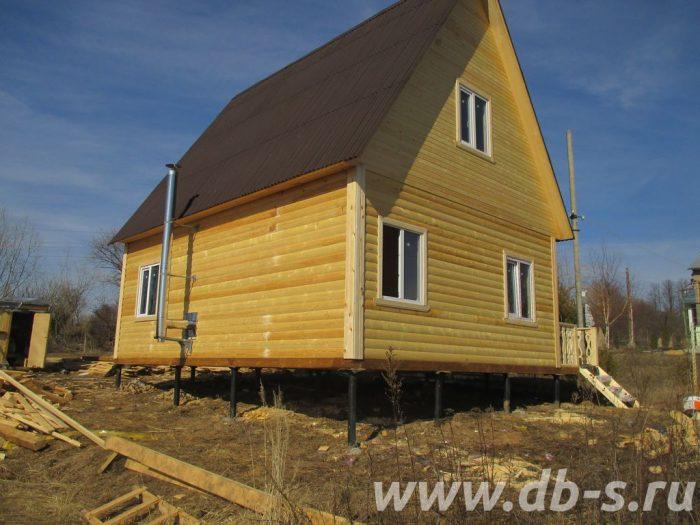 Строительство дома из бруса с мансардой 6 на 8 Щёлково, Московская область фото 1