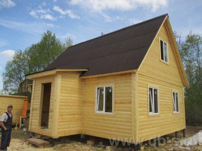 Строительство дома 6х8 г. Тверь