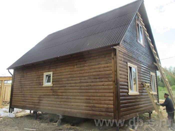 Строительство дома из бруса с мансардой 6 на 8 Тверь, Россия фото 2