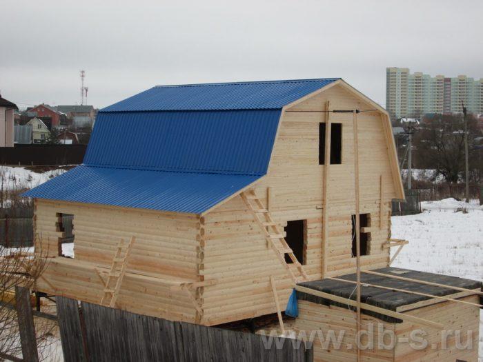 Строительство дома из бруса с мансардой 8 на 7 Сергиев Посад, Московская область фото 1